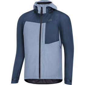 GORE WEAR C5 Gore-Tex Trail Chaqueta Capucha Hombre, deep water blue